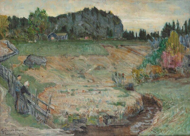 Fra Enebakk 1917