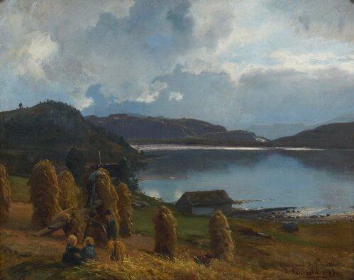 Høystakker 1863