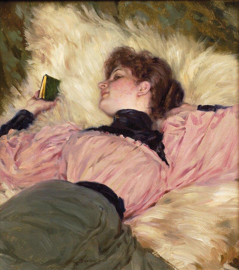 Hvilende kvinne