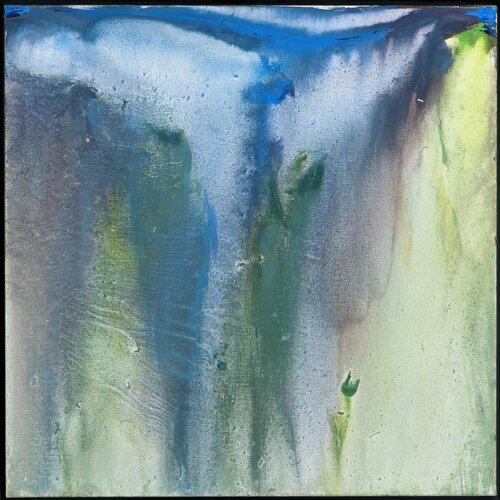 Blått og grønt, fra Rosendal