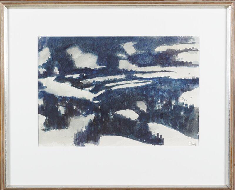 Vinterlandskap 1965
