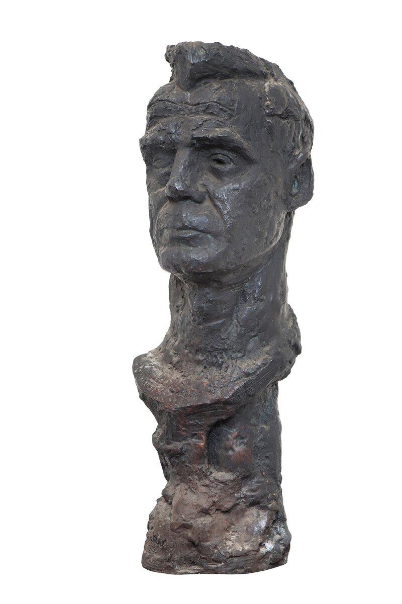 Byste av Jakob Weidemann 1957