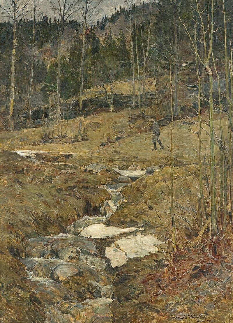 Vår i skogen 1909