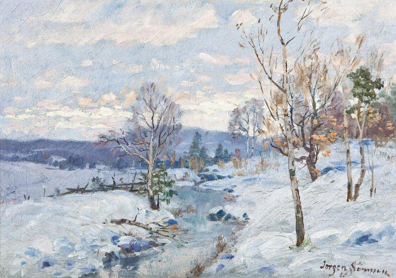 Vinterlandskap 1886