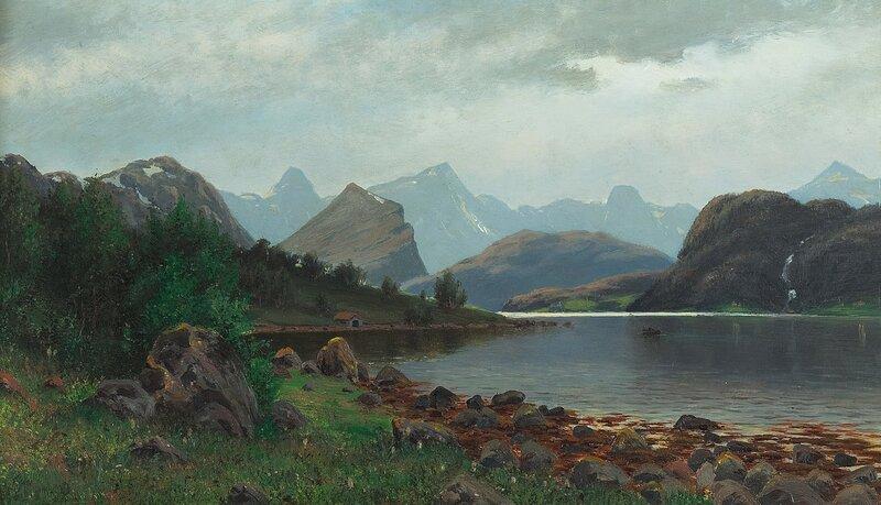 Fra Alfarnæs i Romsdalen