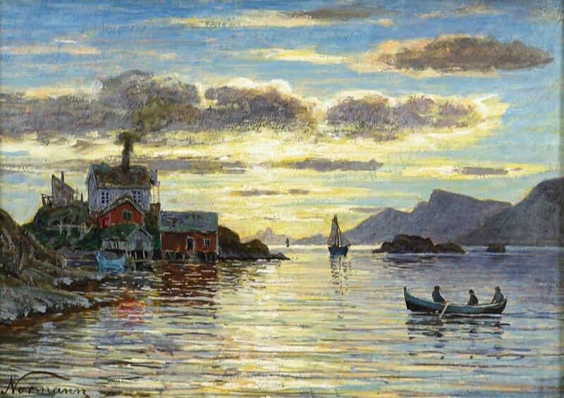 Folkeliv ved Norlandskyst