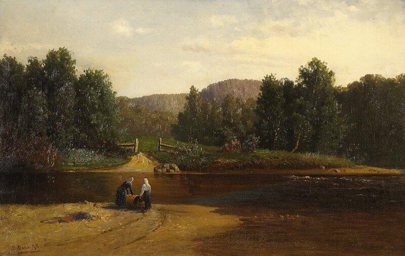 Fra Sandvigselven 1878