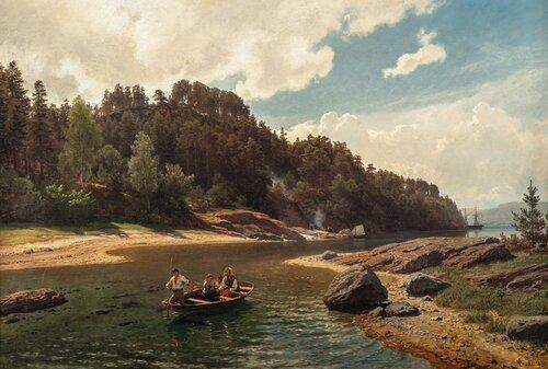 Sundet ved Malmøkalven 1875
