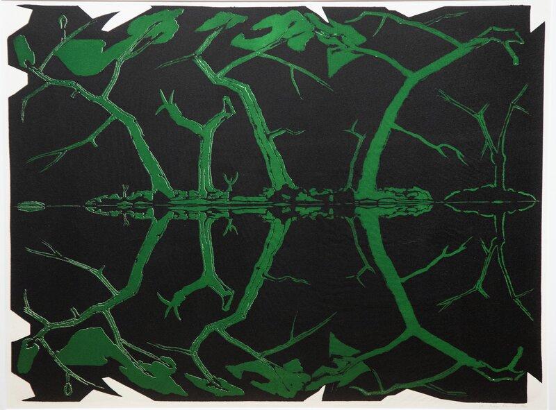 Speilingsserien (grønn - svart) 1987
