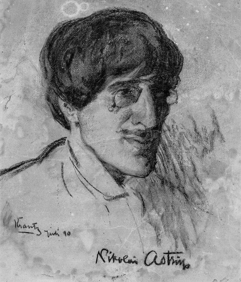 Portrett av Nikolai Astrup 1910