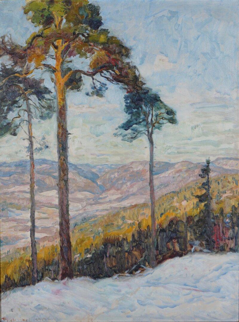 Skogslandskap 1917
