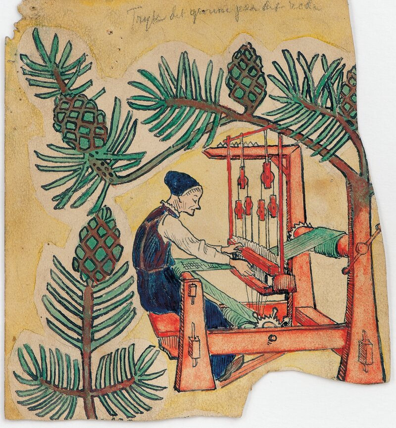 Woman from Jølster by the Loom