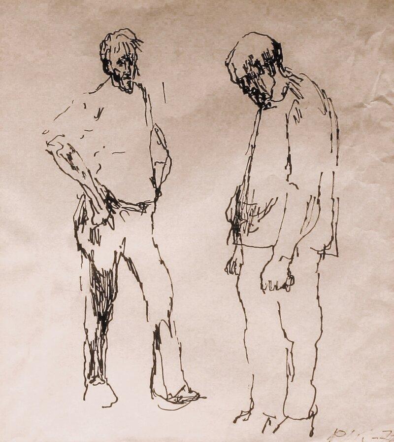 To stående menn 1975