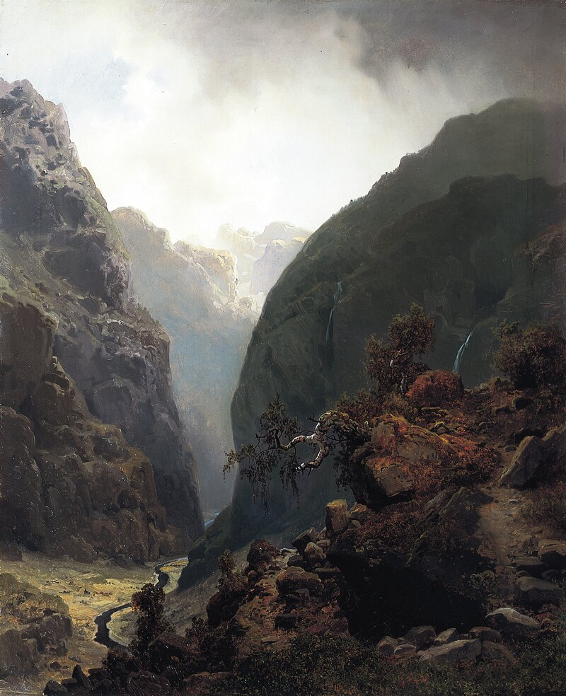 Fjellandskap 1848