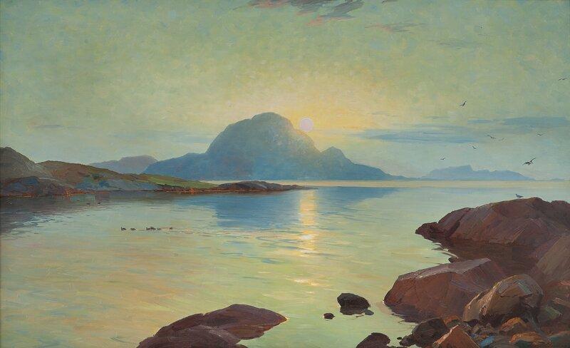 Sommeraften Helgeland - Torghatten