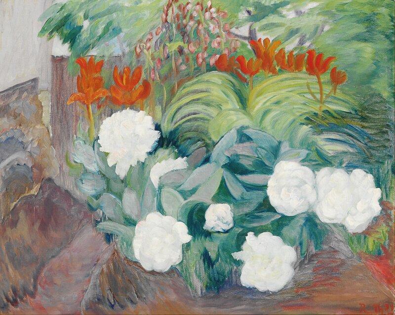 Blomster. Peoner 1934
