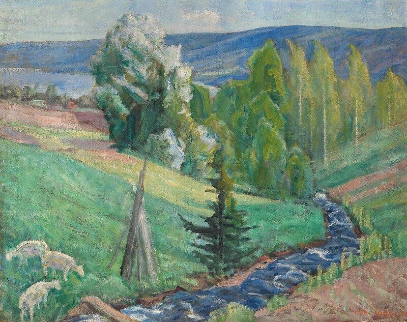 Fra Elvedalen, Fåberg 1939