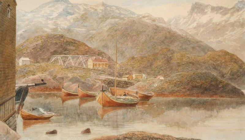 Fra Svolvær 1871