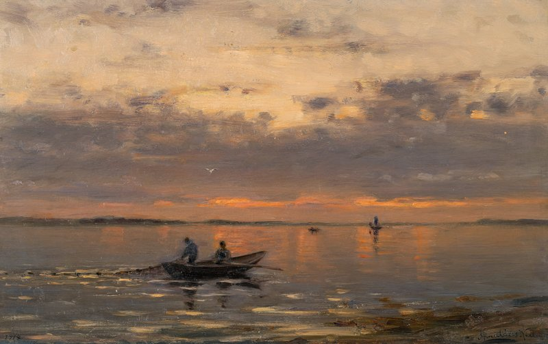 Stille høstaften 1914