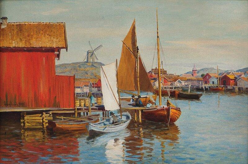 Fra Fiskebäckskil 1889