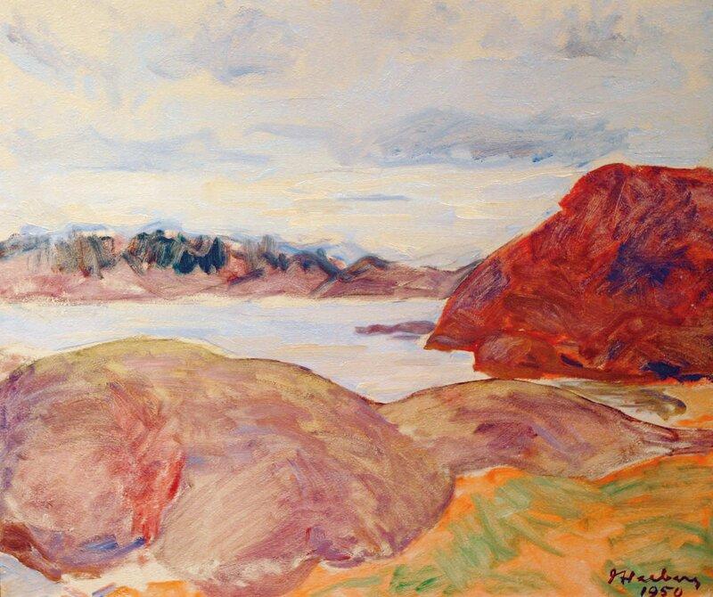 Fjordlandskap 1950