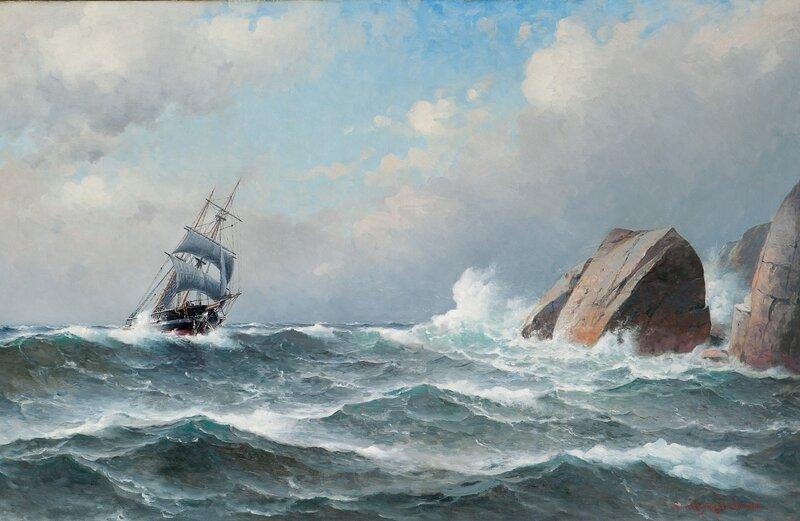 Innseilingen til Egersund 1908
