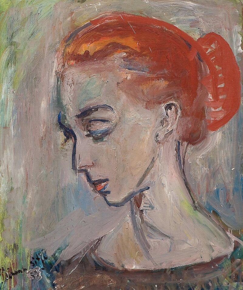 Kvinneportrett 1957