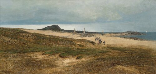 Landskap fra Jæren 1878