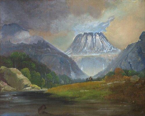Gaustadtoppen 1858