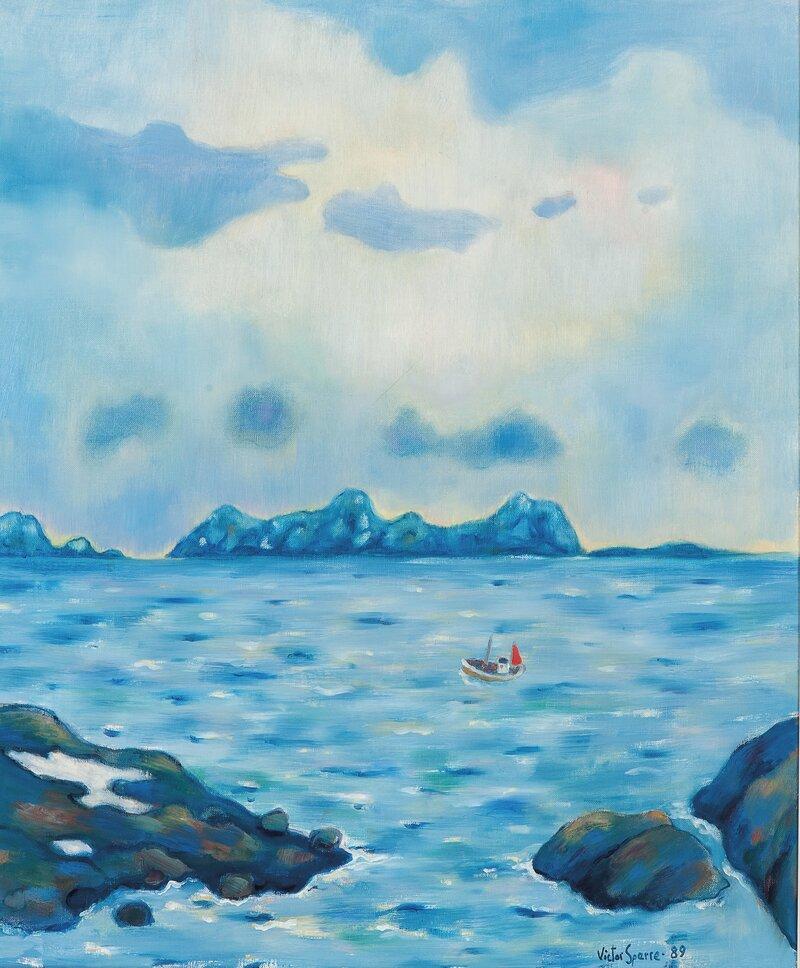 Det klarner opp i Lofoten 1989