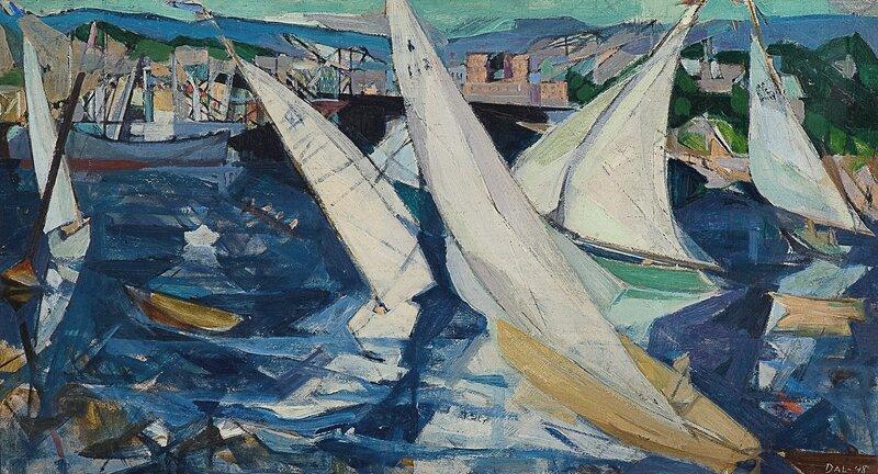Regatta i Oslofjorden 1948