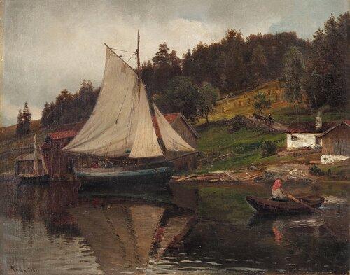 Fra Sandvika 1881