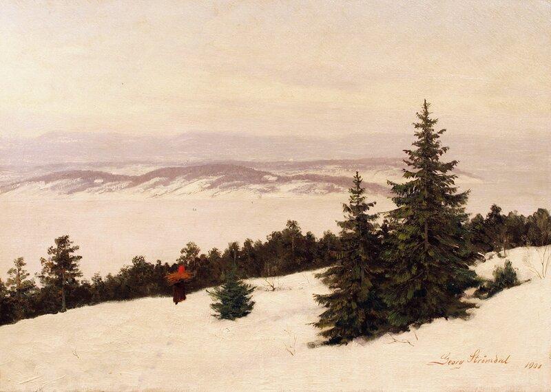 Utsyn fra Nordstrand 1900