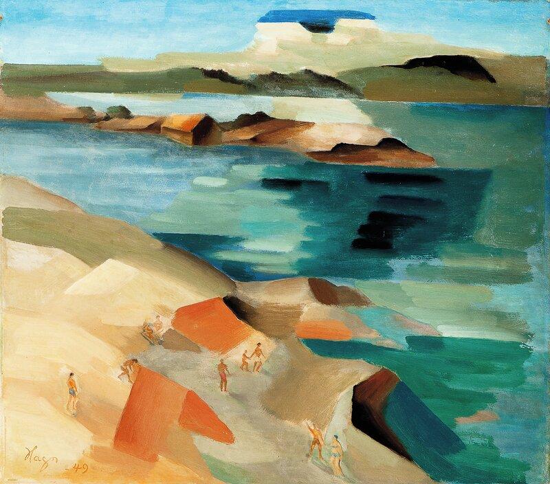 Solbadende figurer, Son 1949