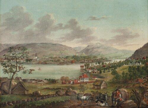 Bergen sett fra Laksevåg