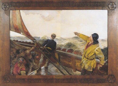 Leif Eriksson oppdager Amerika 1892/93