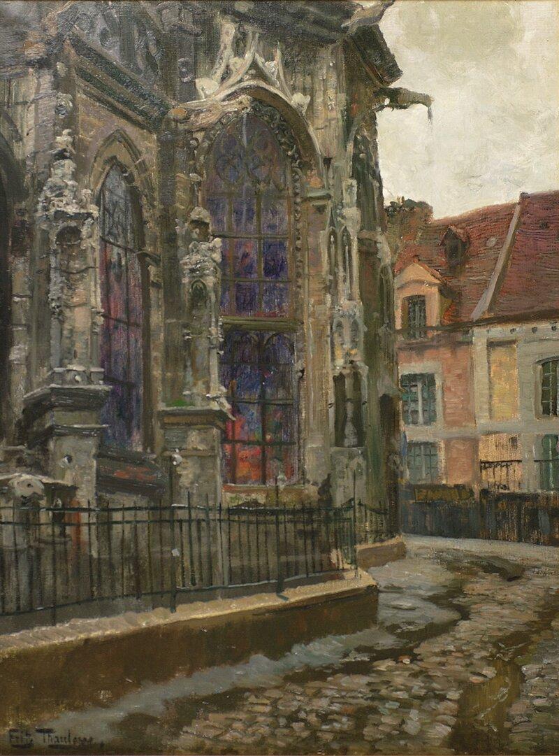 Apsis til kirken St. Jaques, Dieppe