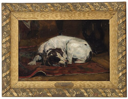 Resting pointer in an interior 1887
