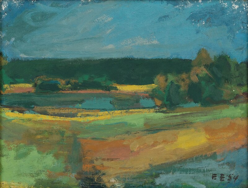 Landscape with a Field 1954
