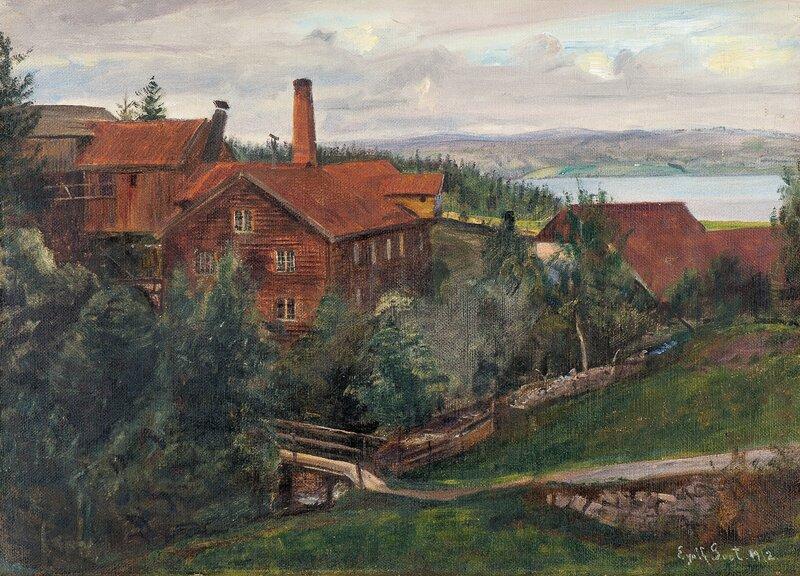 Den døde fabrikk, Hexhus, Kapp 1912