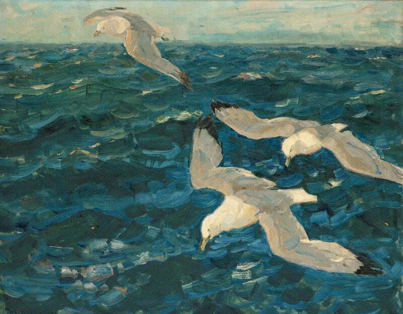 Flyvende måker 1898