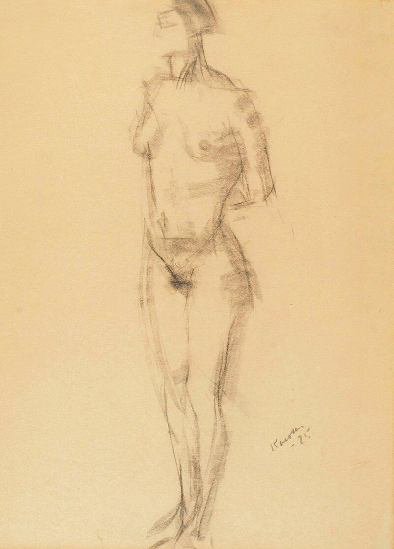 Kvinneakt 1925
