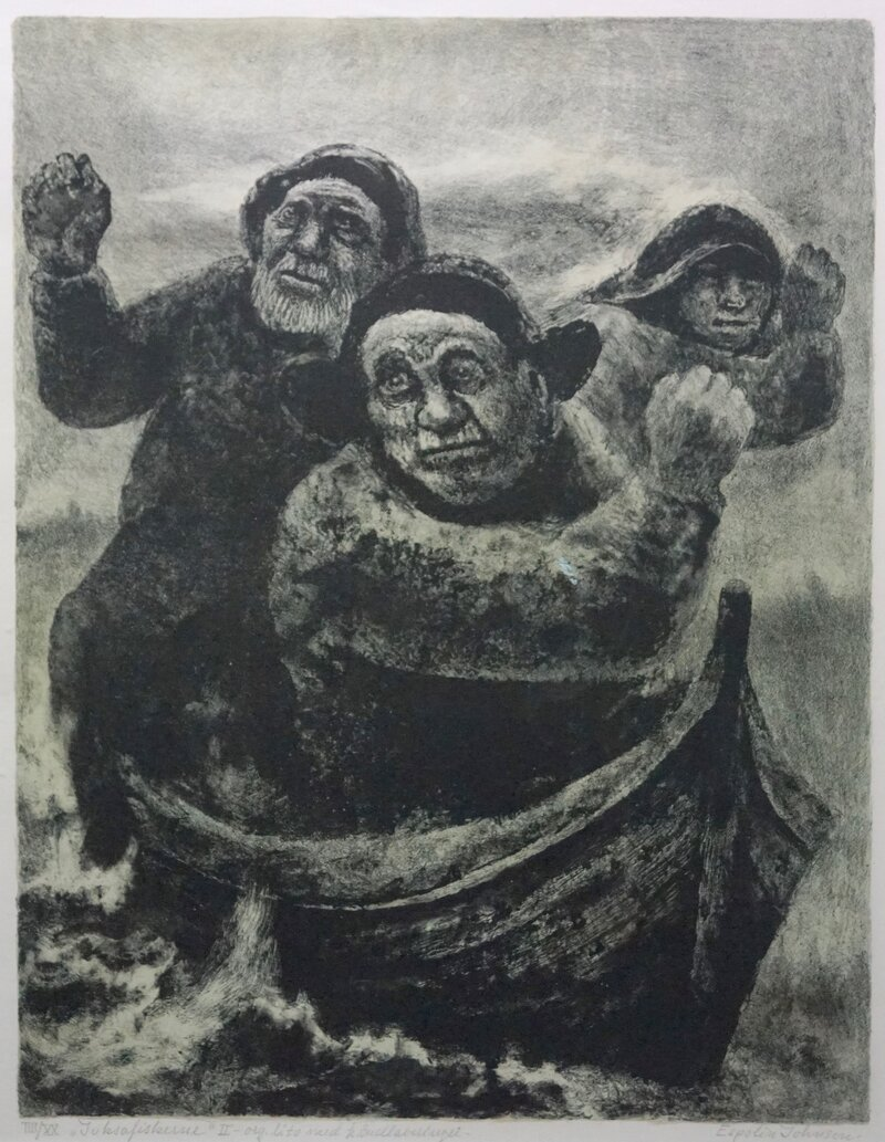 Tre juksafiskere