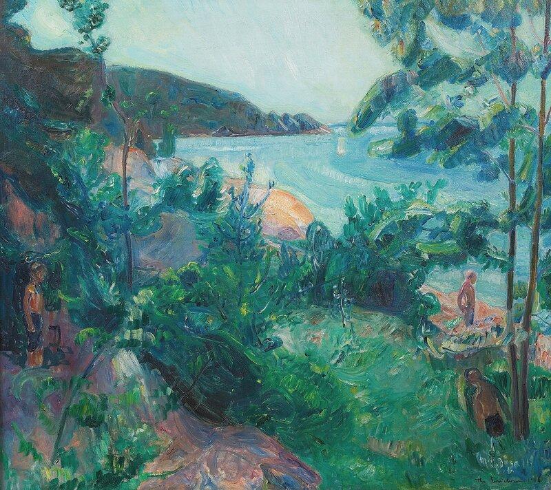 Sommerdag, Holmsbu 1916