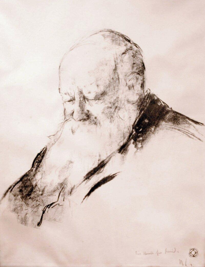 Portrett av Christian Krohg