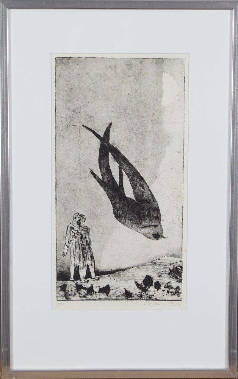 Død tårnsvale II 1965