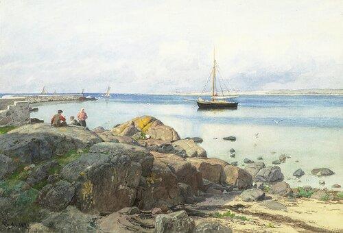 Fra Torekov 1890