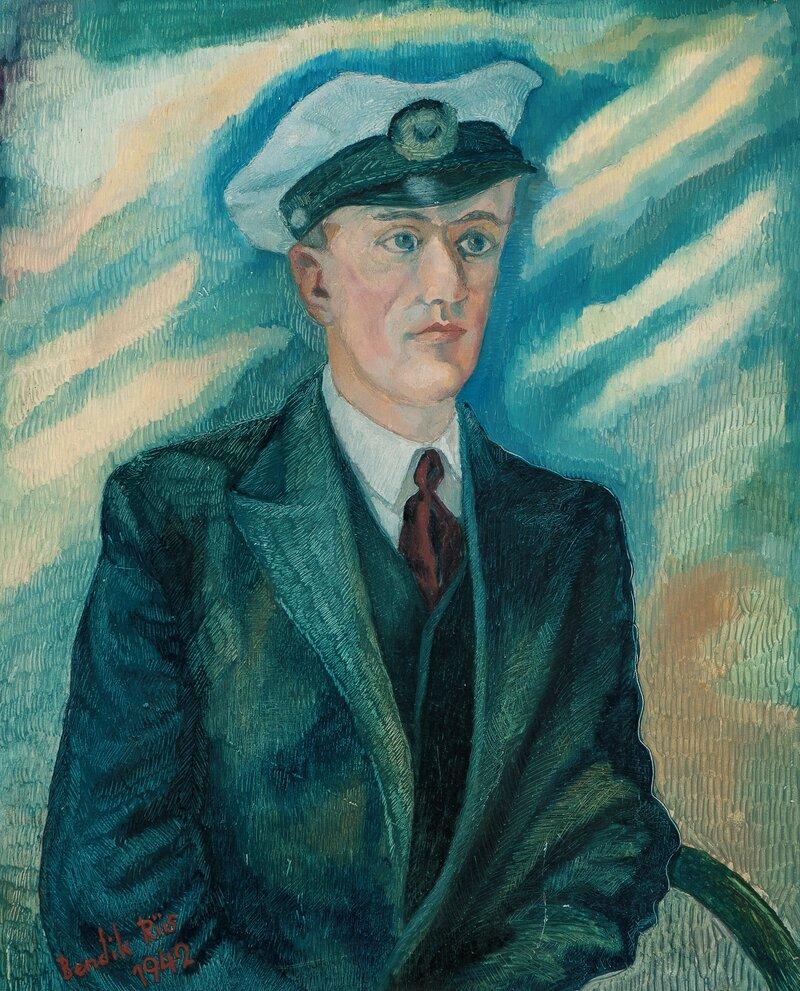 Portrett - Bølgene toner 1942