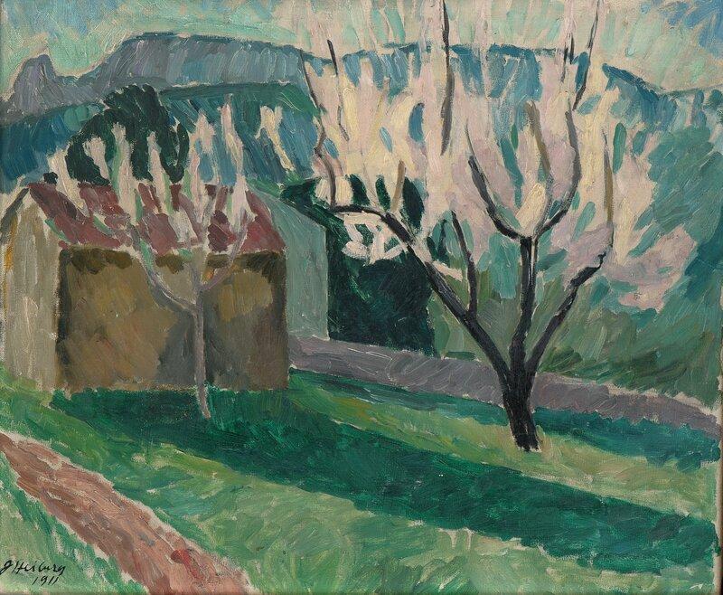 Flowering Almond Tree 1911