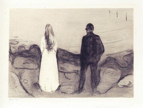 To mennesker/De ensomme